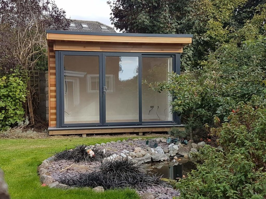 Relaxation contemplation yoga room by rooms outside groundworks by foundation screws ireland