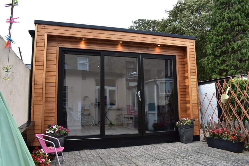 music and play room by rooms outside groundworks by foundation screws ireland